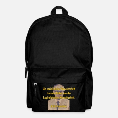 Mismanagement socialist planned economy - Backpack