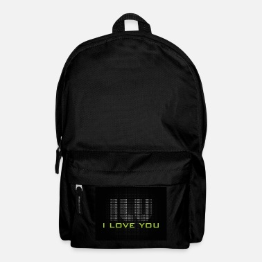 Ich liebe dich - Backpack