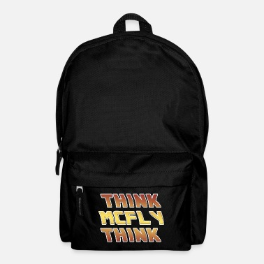 Future Back to the Future Think McFly Think - Backpack