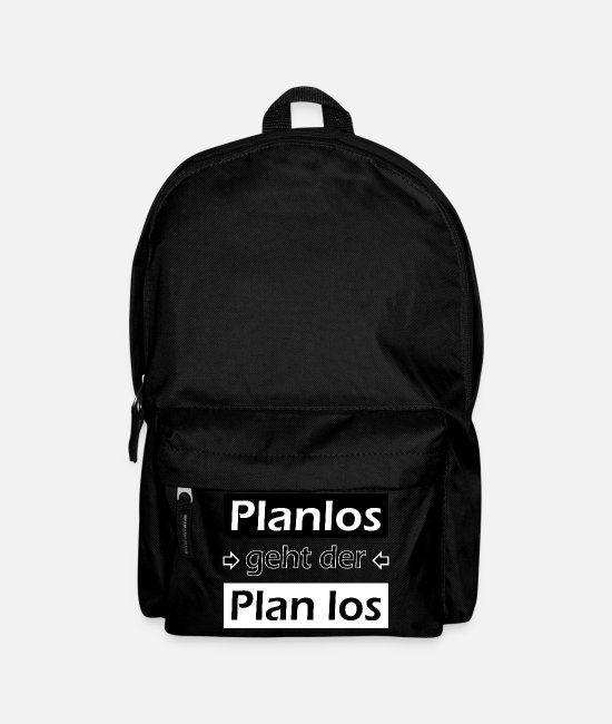Program Bags & Backpacks - The plan goes off-hopefully-optimally for black - Backpack black