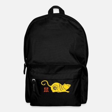 Asia year of the rat (chinese zodiac) - Backpack