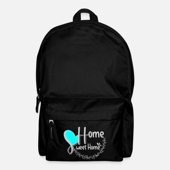 Birthday Bags & Backpacks - home sweet home gift home - Backpack black