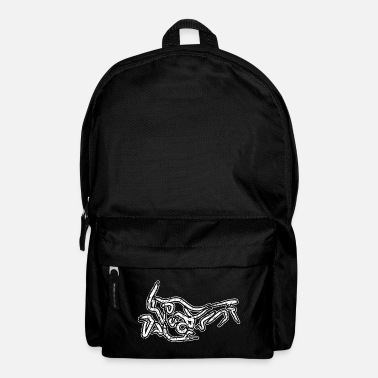 Africa Africa Twin CRF1000L Calligraphy Vintage ws - Backpack