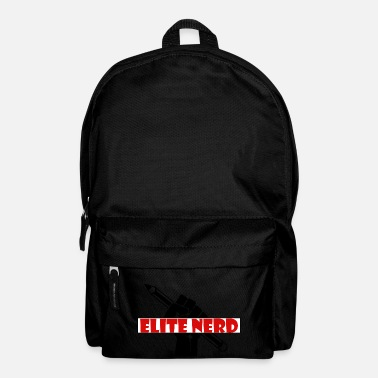 Education Culture Elite Nerd - The Education Warrior - Backpack