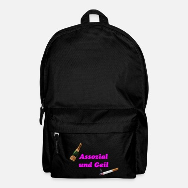 Association Associal and horny - Backpack
