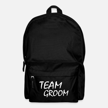 Groom Team Groom - Backpack
