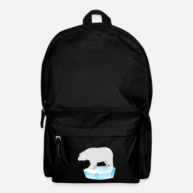 34e5be7d7a6 North Pole Polar Bear Gift North Pole South Pole Nature Conservation -  Backpack