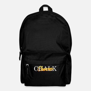 Chalk Chalk and Cheese - Backpack