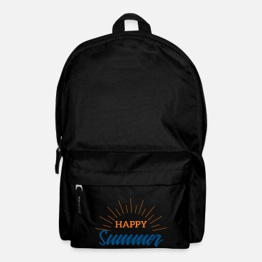 Summer Summer Happy Summer Festival Music Gift - Backpack
