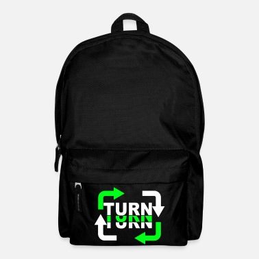 Turn Turn Turn Turn Arrows - Backpack