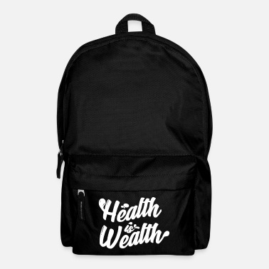Wealth Health is wealth - Backpack