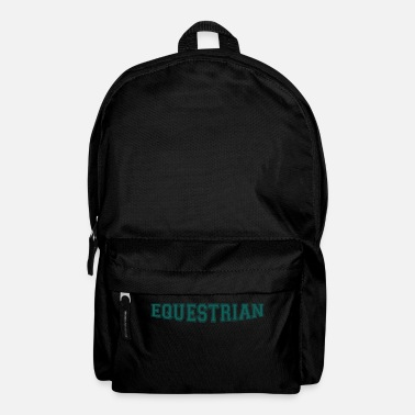 Writing Equestrian Writing - Sac à dos