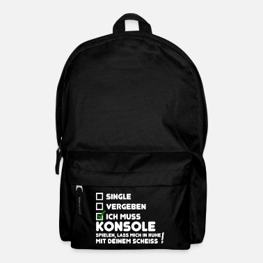 Award Gamer single awarded console gaming gift - Backpack