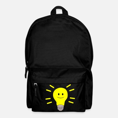 Beady Eyes Olli pear - happy button eyes - Backpack
