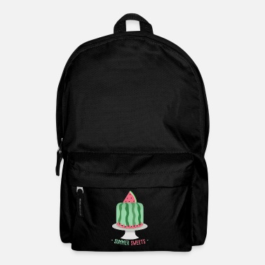 Food Collection Pie melon summer - Backpack