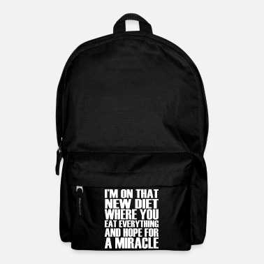 Funny funny funny sayings - Backpack