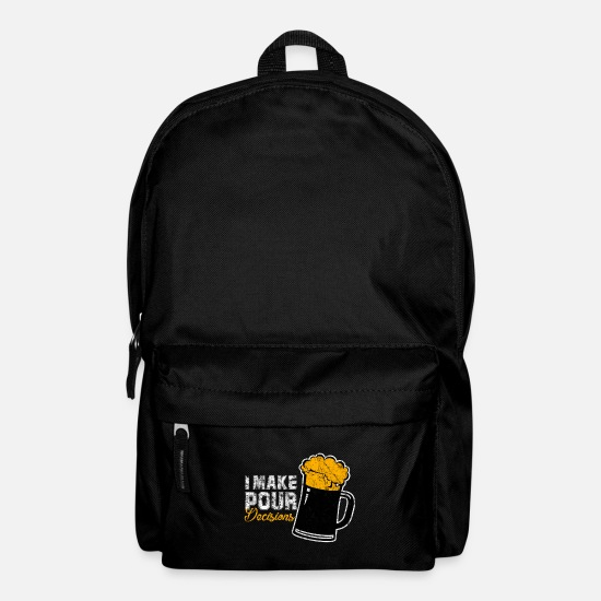 Alcohol Bags & Backpacks - beer - Backpack black