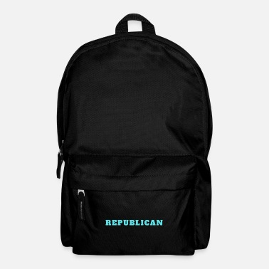 Republican Republican Republican politics - Backpack
