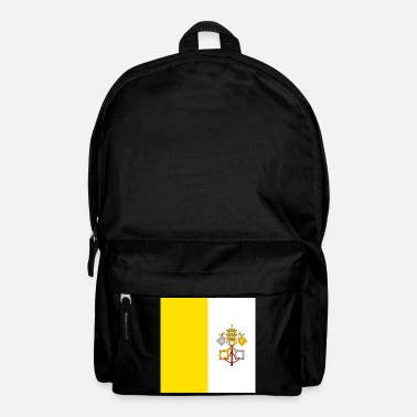 Flag of Vatican City. - Backpack