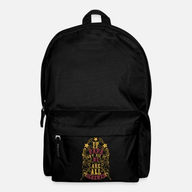 Roofer Dad dad grandfather gift repair - Backpack