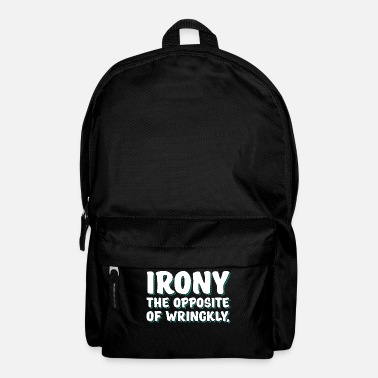 Irony irony - Backpack