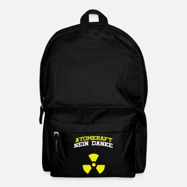 Plutonium Nuclear power, no thank you - Backpack