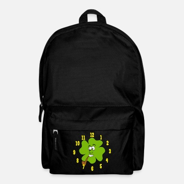 Clock Guys! Have This St. Patrick's Tee Tshirt Design - Backpack