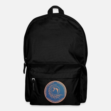 Greece Nautilus dolphin tribal - Backpack