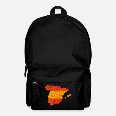 Spanish Spanish flag, Spanish flag, Spanish flag - Backpack