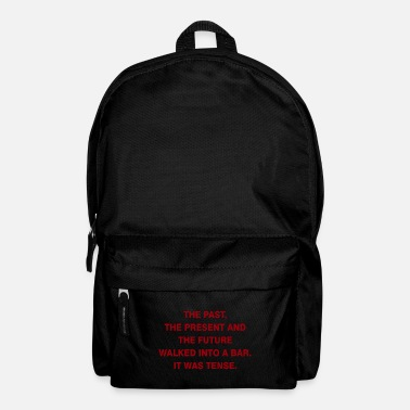 Mathematics Tense Gift Teacher School Professor - Backpack