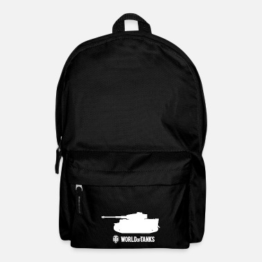 World WoT - Tiger Silhouette White - Backpack