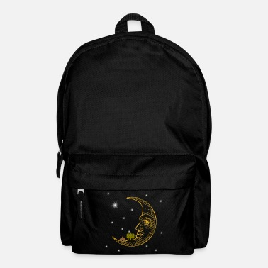 Camping On The Moon Under The Stars - Backpack