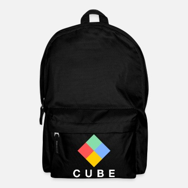 Quadrat Colorful square logo - Backpack