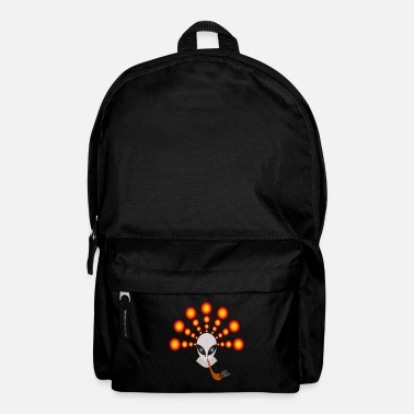 Crop Crop circle alien - Backpack