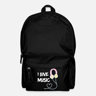 Kawaii I love Music - Mochila
