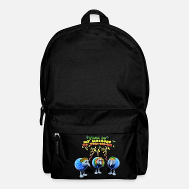 three little RASTA birds - Rucksack