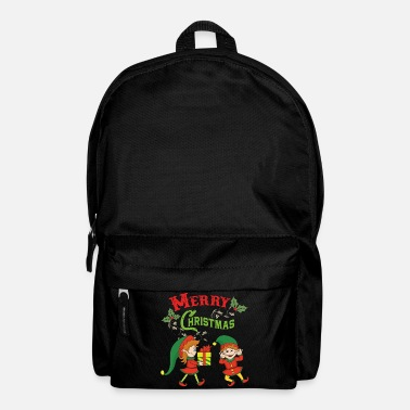 Elf Christmas Elf Elf Christmas Christmas Xmas - Backpack