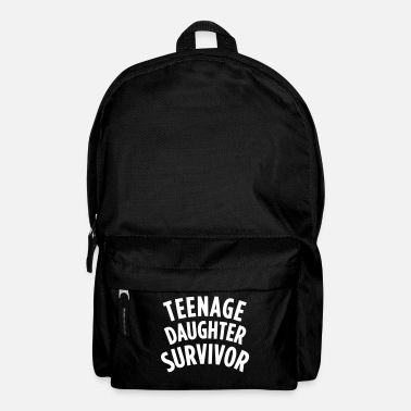 Adolescente TEENAGE DAUGHTER SURVIVOR Manga larga - Mochila