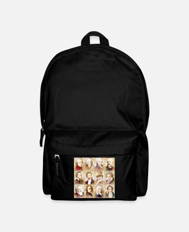 Weaver Bags & Backpacks - Composers: Mozart, Bach, Beethoven and more - Backpack black