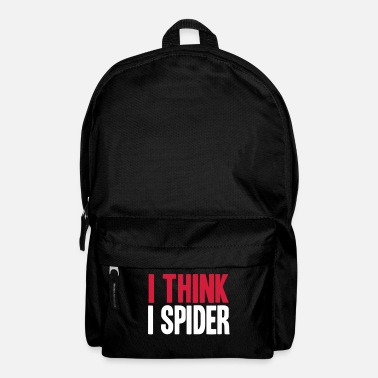 Allemand I THINK I SPIDER (DENGLISCH) - Sac à dos