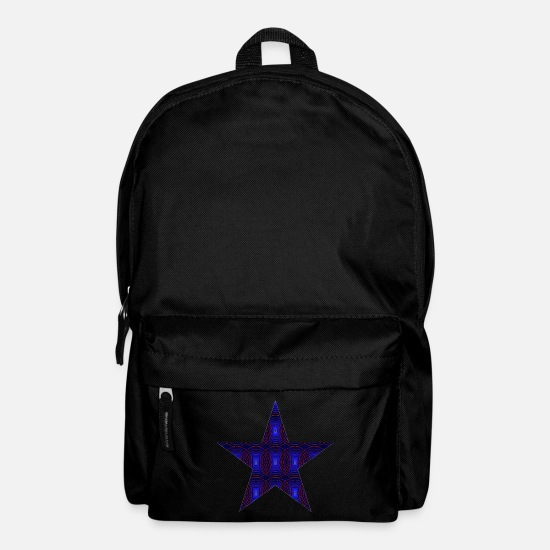 Symbol  Bags & Backpacks - Psychedelic star - Backpack black