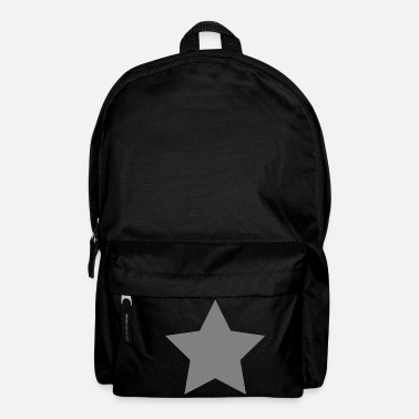 Silver Silver Star - Backpack