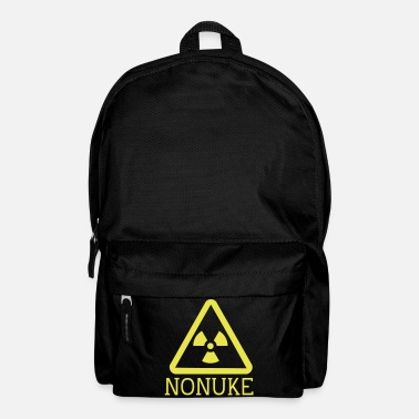 Nuclear No nuclear weapons - Backpack