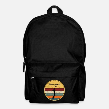 Amature Athlete Volleyball Set Athlete Beachball Gift - Backpack