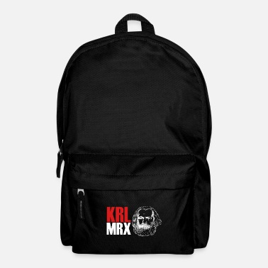 Karl Karl Marx KRL MRX Gift - Backpack