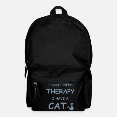 therapy cat - Rucksack