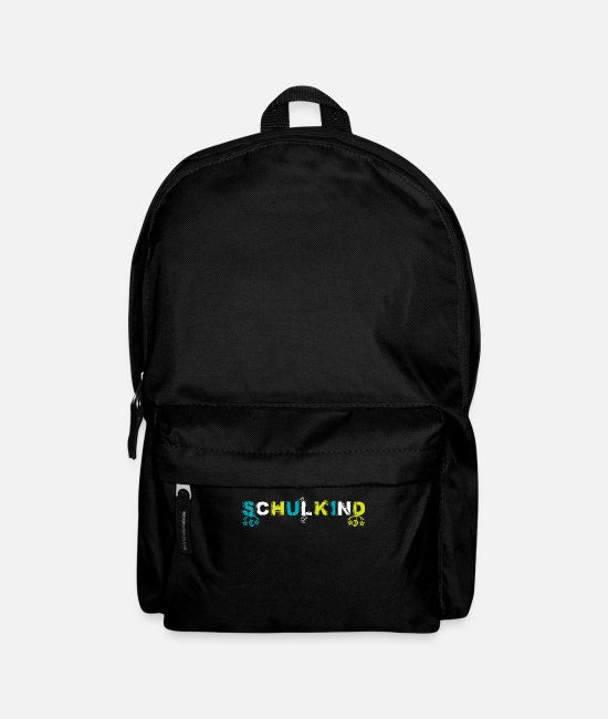 School Beginner Bags & Backpacks - Schoolchild enrollment elementary school gift idea - Backpack black