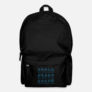 Formula Mathematics graphic formula school gift - Backpack