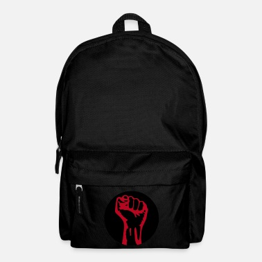 Fuerza 2 colors - against capitalism working class war revolution - Mochila