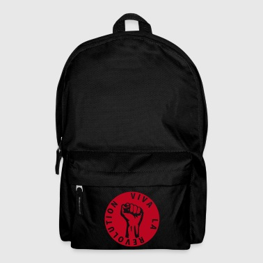 1 colors - Viva la Revolution - Working Class Unity Against Capitalism - Backpack